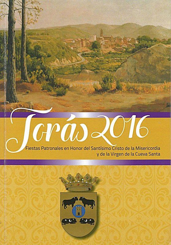 Libro de Fiestas Torás - 2016