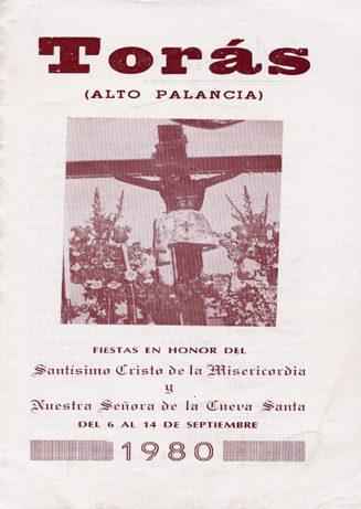 Libro de Fiestas Torás - 1980