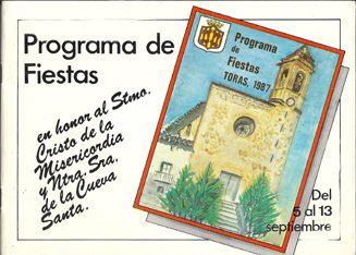 Libro de Fiestas Torás - 1987