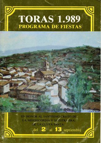 Libro de Fiestas Torás - 1989