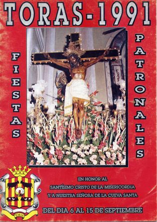 Libro de Fiestas Torás - 1991
