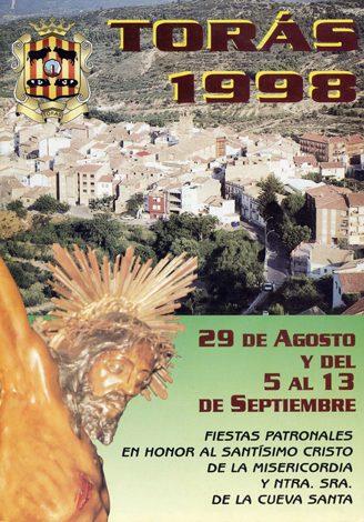 Libro de Fiestas Torás - 1998