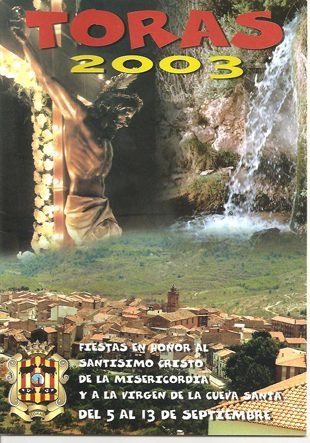 Libro de Fiestas Torás - 2003