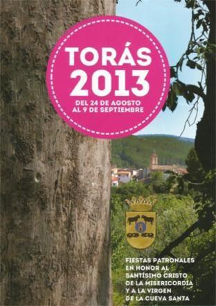 Libro de Fiestas Torás - 2013