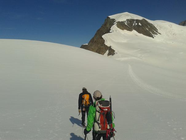 Camino del Alphubel, 4206 m
