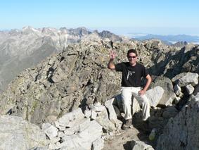 Vistas desde el Pico del Alba en el Pirineo Aragonés