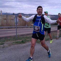 Pepe en la media maratón de Ojos Negros 2016