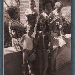 FUENTE DE LA GLORIETA EN 1970. FOTO DE RAFAEL MONLEÓN