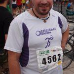 Alberto Pérez antes de comenzar