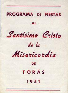 Portada Fiiestas 1951