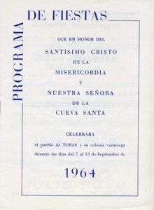 Libro de Fiestas 1964