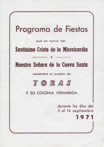 Libro de Fiestas 1971