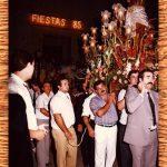 PROCESIÓN DEL SANTÍSIMO CRISTO DE 1985. FOTO DE FRANCISCO MIRAS