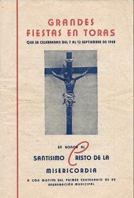 Libro de Fiestas Torás - 1948