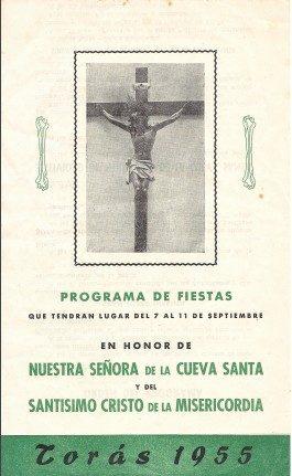 Libro de Fiestas Torás - 1955