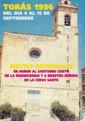 Libro de Fiestas Torás - 1996