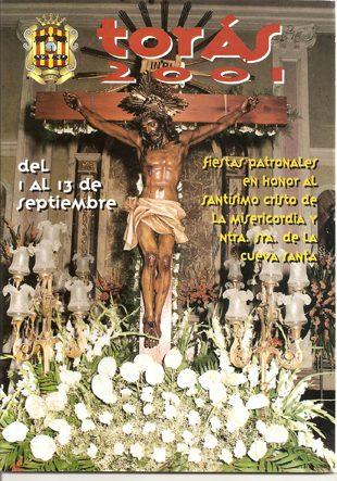 Libro de Fiestas Torás - 2001