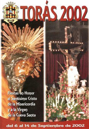 Libro de Fiestas Torás - 2002