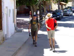 Paco y David bien contentos