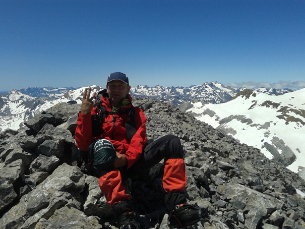 En el Pitón SW del Cilindro, 3194 metros
