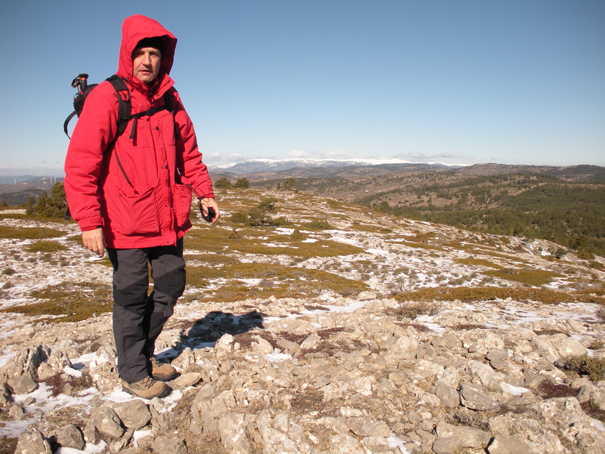 Cerro Negro (1.580 m), Sierra del Toro, 20 de febrero de 2010. Fotografía de Maremoto