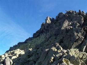 Pico Almanzor, cumbre de la Sierra de Gredos (Ävila)
