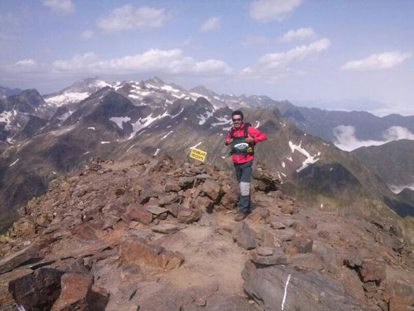 Cumbre del pico Salvaguardia