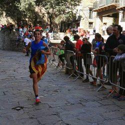 Pau entrando en meta de la Pirineu XS 2016