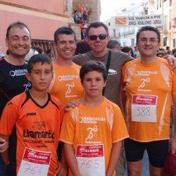 A la derecha Paco, el vencedor en esta ocasión