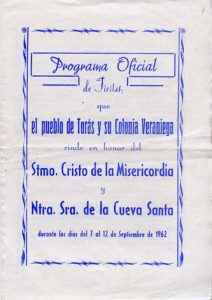 Libro Fiestas 1962
