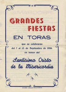 Libro de Fiestas 1956